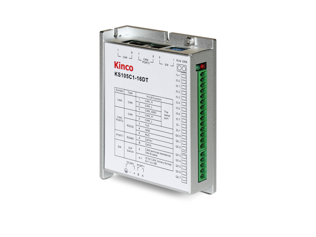 Kinco KS122-12XR Digital Output Expansion for KS105 PLC