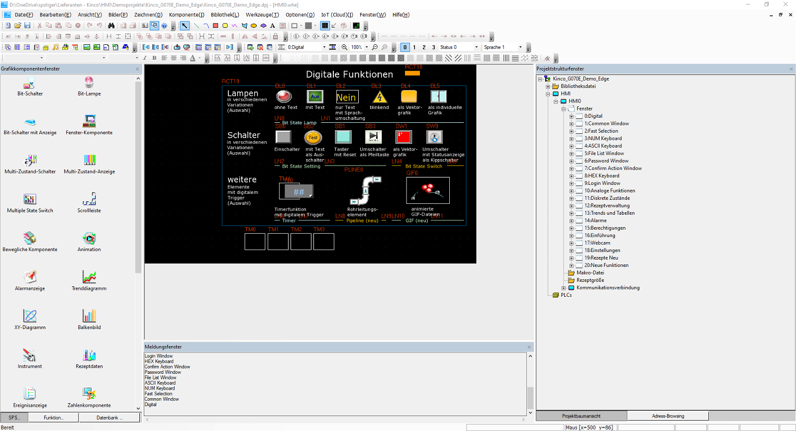 Programmiersoftware Kinco DTools