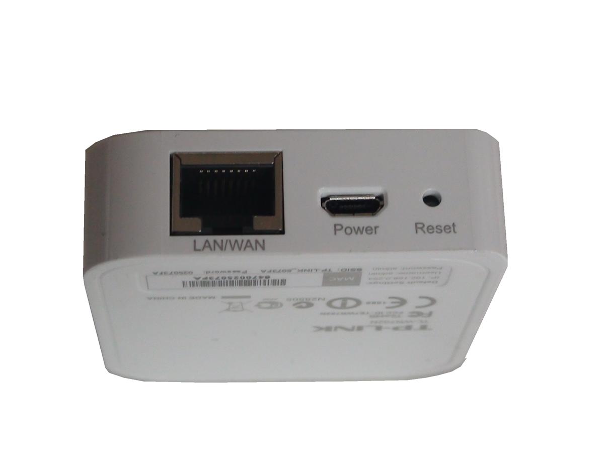 TP-LINK WR802N - Nano Router als WLAN-Adapter für HMI und SPS