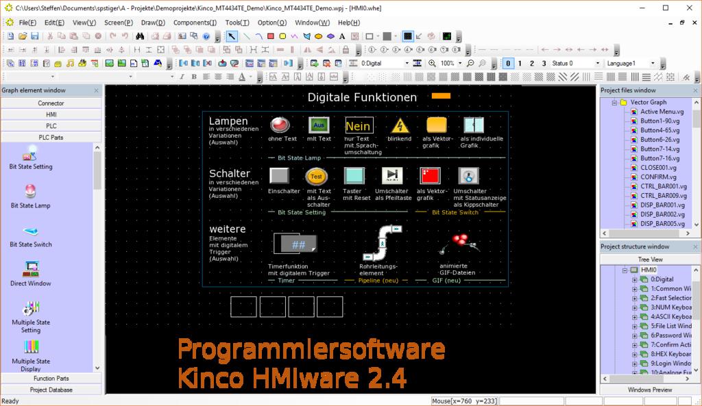 """Kinco GH043E 4"""" Green Series Widescreen HMI Touch Panel"""
