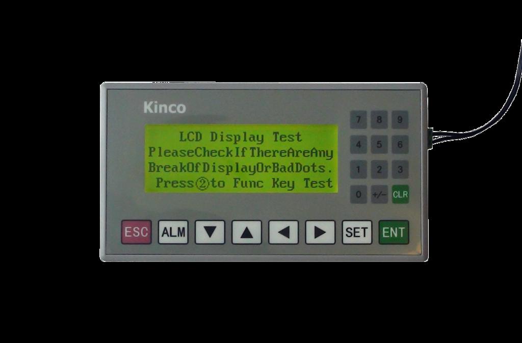 Kinco Textdisplay MD204L für verschiedene SPS