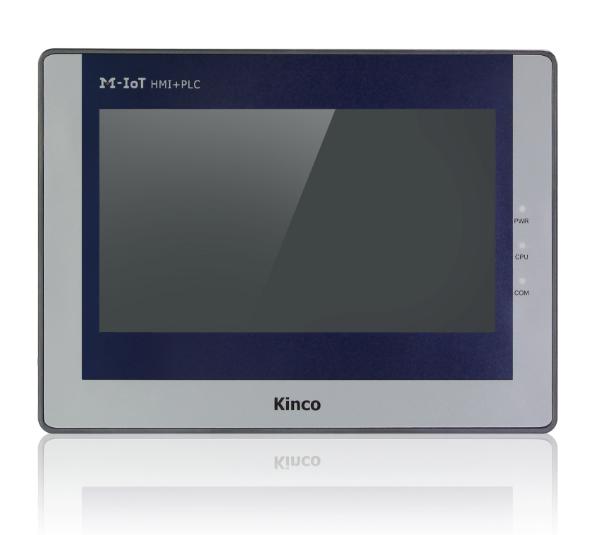 "Kinco MK070E-33DT 7"" IoT Series HMI-Touchpanel mit Ethernet und integrierter SPS"