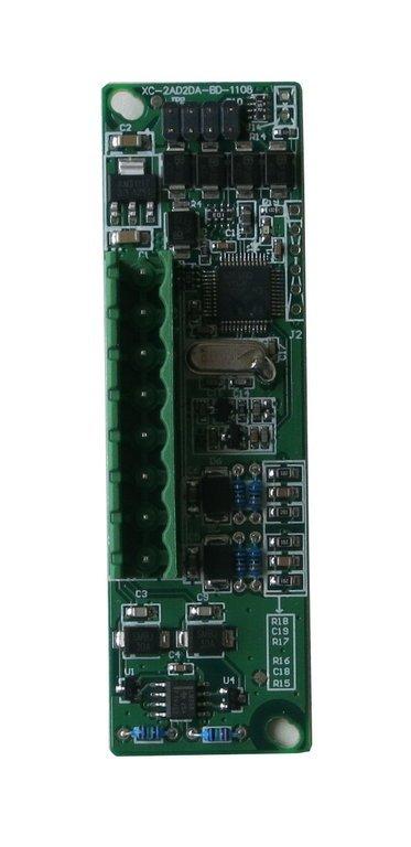 Analogeingänge als CPU-Erweiterungskarte für Thinget XC (2 x 0 - 10 V und 2 x PT100)