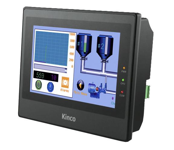 "Kinco 7"" Widescreen HMI-Touchpanel MT4414TE-CAN - Vorführgerät"