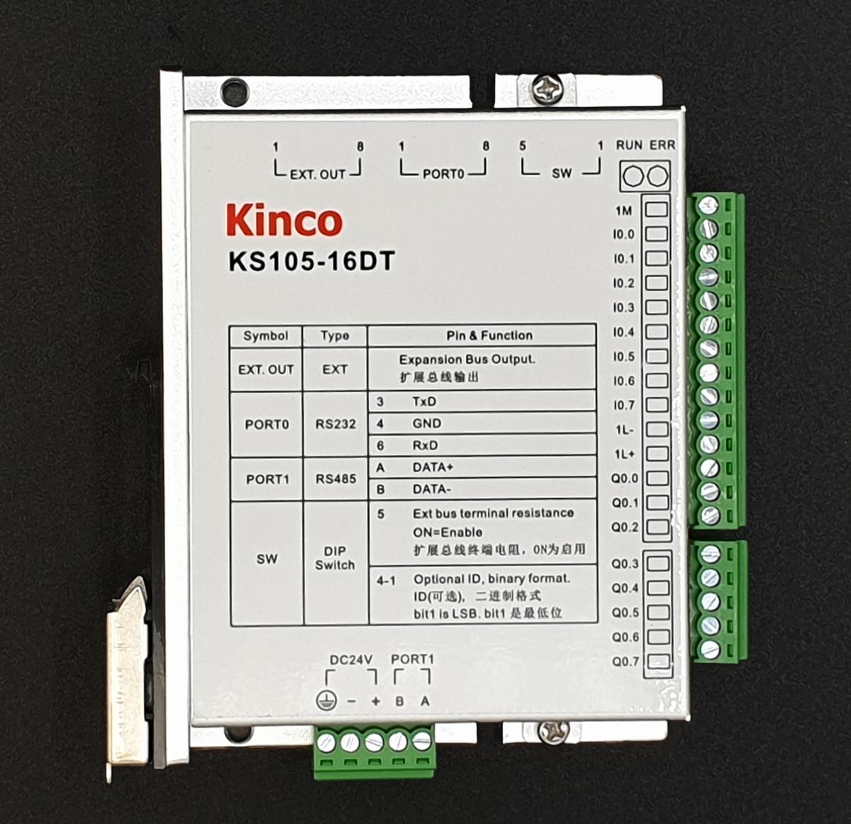 Kinco SPS KS105-16DT - 16 E/A (erweiterbar)