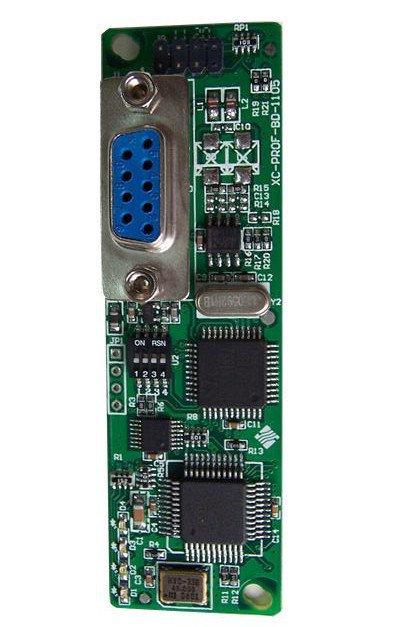 Profbus-DP-Slave-Schnittstelle (COM3) für THINGET XC-SPS - als CPU-Erweiterungskarte