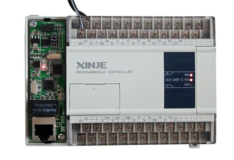 Ethernet-Schnittstelle (COM3) für THINGET XC-SPS - als CPU-Erweiterungskarte