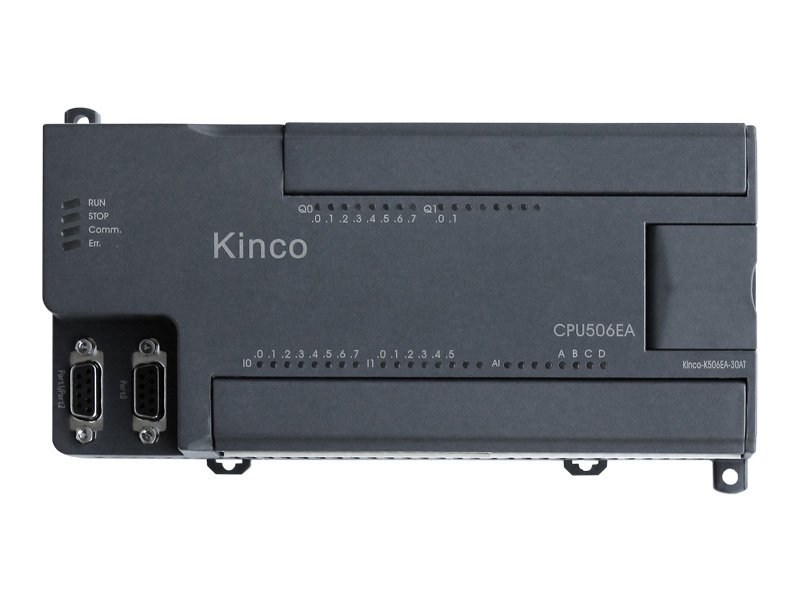 Kinco K5 PLC K506EA-30DT - 30 I/O of which 4 analog inputs and 2 analog outputs