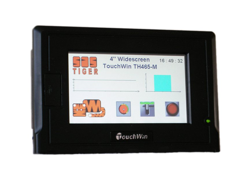 "THINGET TouchWin TH 4,3"" Widescreen HMI-Touchpanel 65536 Farben TFT"