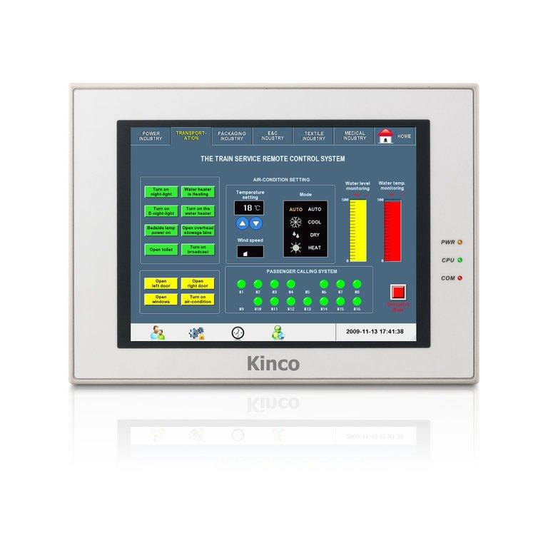 "Kinco 8"" HMI-Touchpanel MT5423T mit Ethernet und optionalem Feldbus"