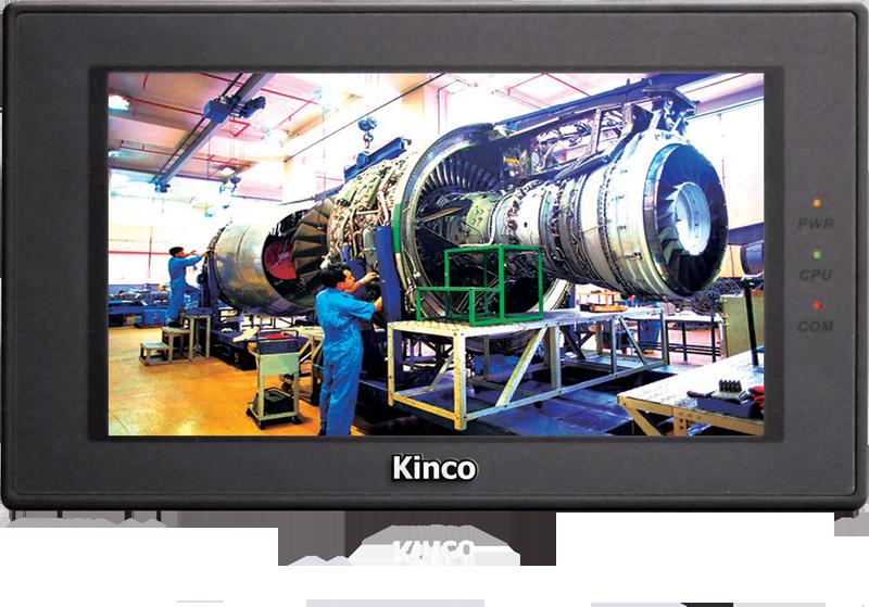 "Kinco 7"" Widescreen HMI-Touchpanel MT4424TE mit Ethernet - Vorführgerät"