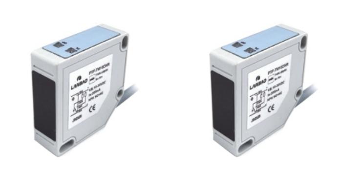 Lanbao - Through-beam sensor (set) - rectangular plastic - switching distance 20 m