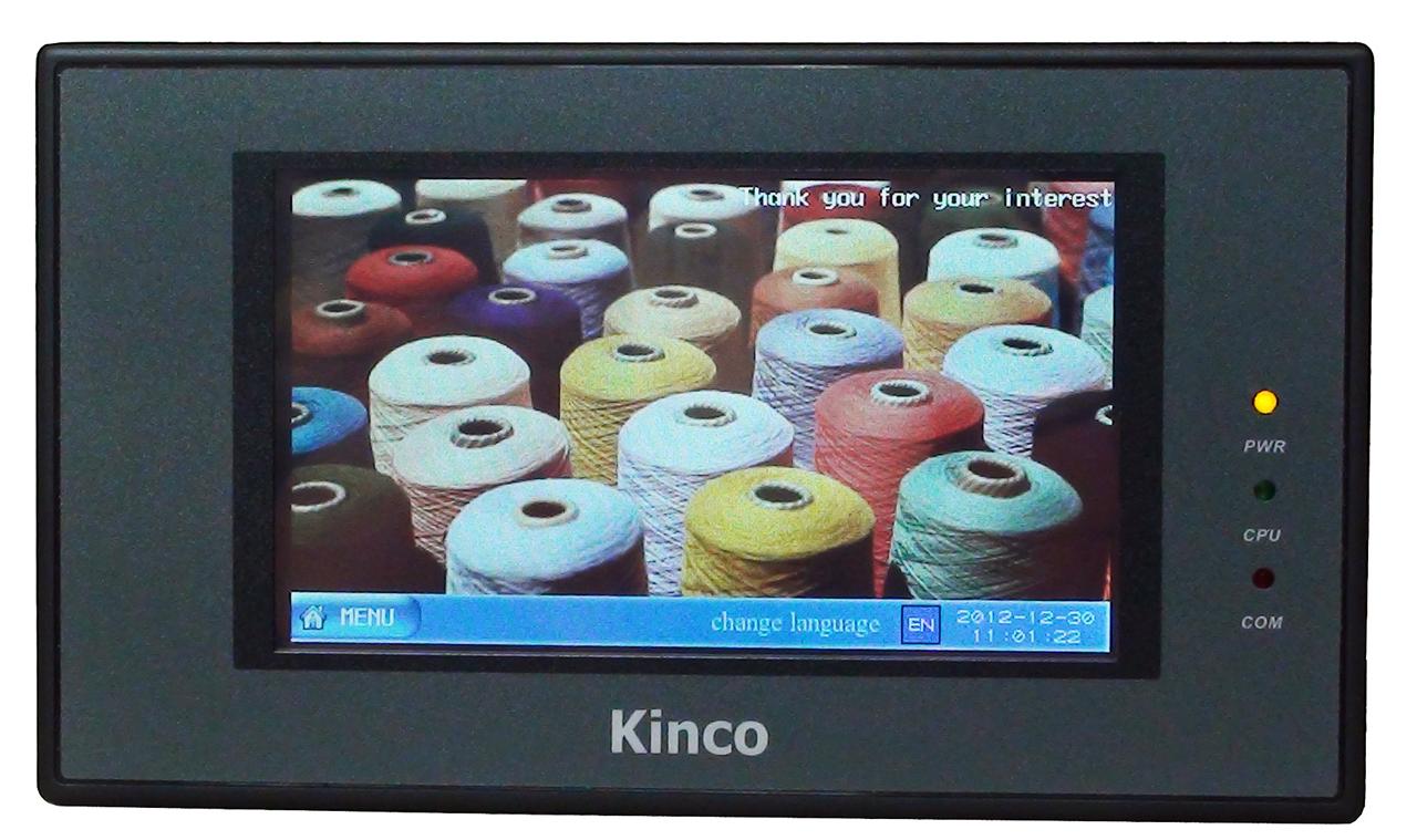"Kinco 4"" Widescreen HMI-Touchpanel MT4220TE mit Ethernet"