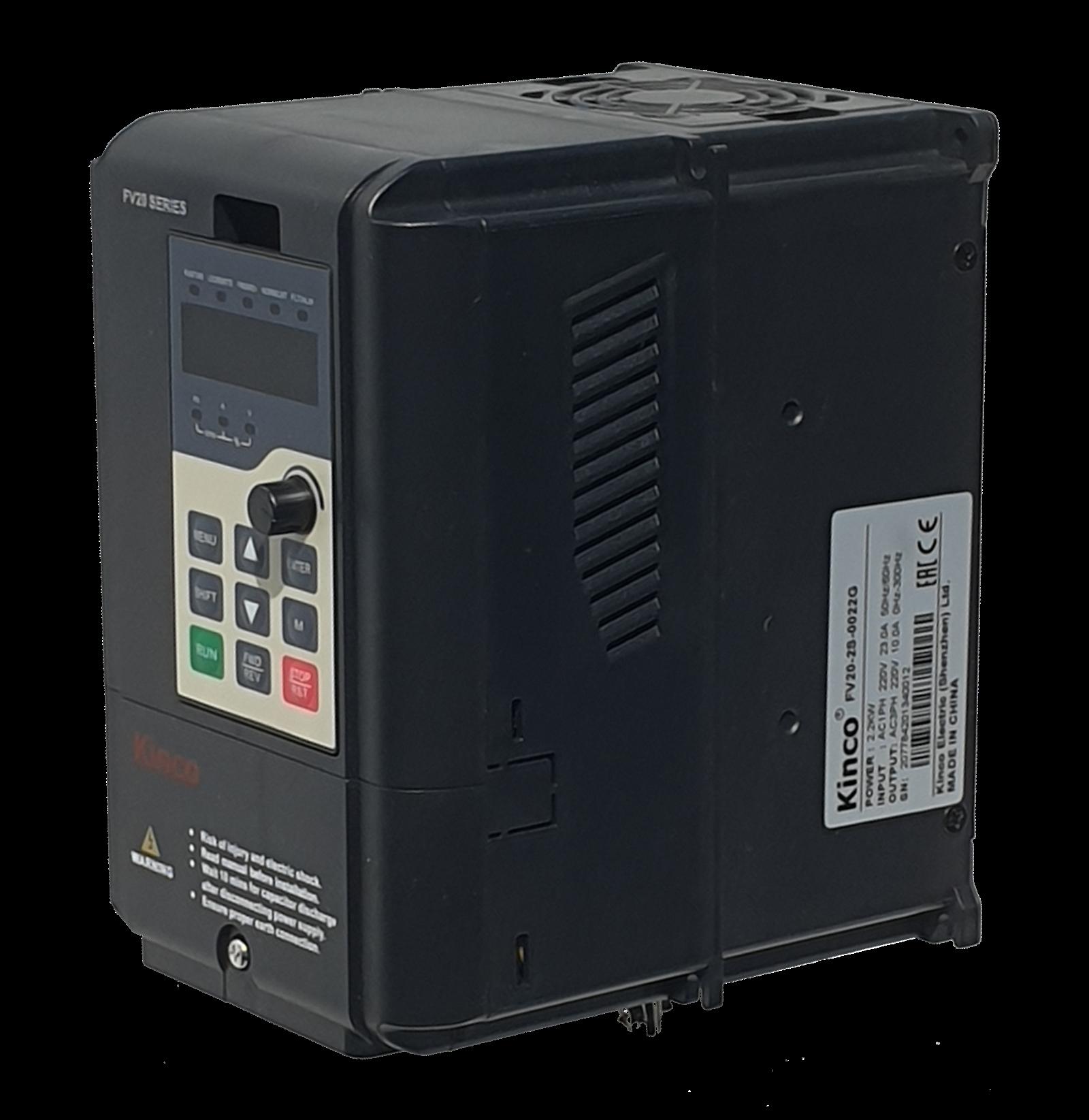 Kinco Frequenzumrichter FV20-2S-0022G (2,2 kW) einphasig 230 VAC